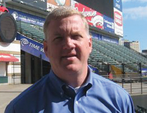 Jim Folk, VP of Ballpark Operations for the Cleveland Indians