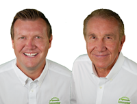 John and Jeff Churchill, owners of ServiceOne