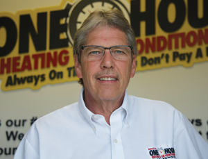 Mark Geschke, Owner of Bauer & Son One Hour Heating & Air Conditioning
