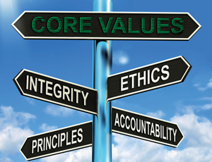 Stay True to Your Core Values